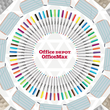 Office Depot Social Animations